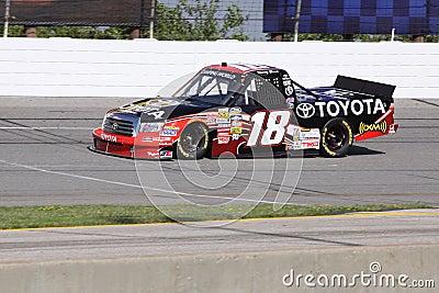 Kyle Bush 18 Qualifying Driver NASCAR Truck Series Editorial Image