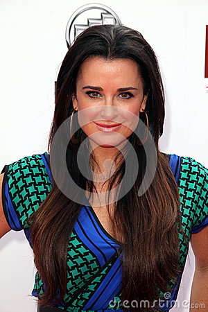 Kyle Richards Editorial Stock Image