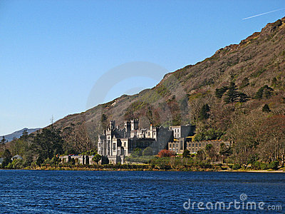 Kylemore Abbey 10 Editorial Stock Photo
