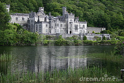 Kylemore Abbey Editorial Stock Image