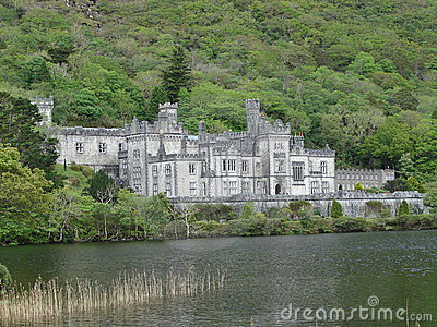Kylemore Abbey Editorial Stock Photo
