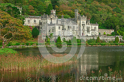 Kylemore Abbey Editorial Image