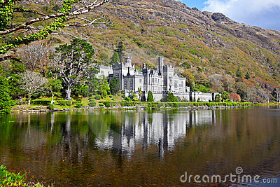 Kylemore Abbey and Castle Editorial Stock Image