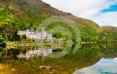 Kylemore Abbey, Connemara, Ireland Editorial Image