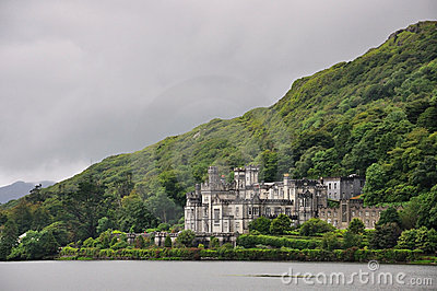 Kylemore Abbey, Ireland Editorial Image