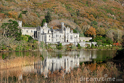 Kylemore Abbey in Ireland Editorial Photo