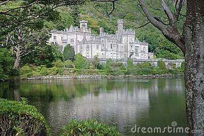 Kylemore abbey in landscape Editorial Stock Photo