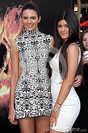 Kylie Jenner,Kendall Jenner Editorial Stock Photo