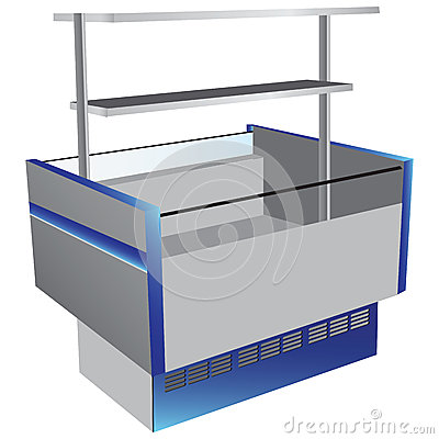 Kylskåp för låg temperatur
