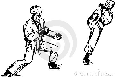 艺术空手道kyokushinkai军事体育运动