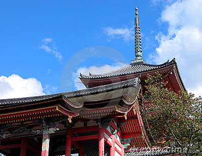 Kyomizudera pagoda