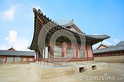 Kyongbok palace korea beautiful history landscape