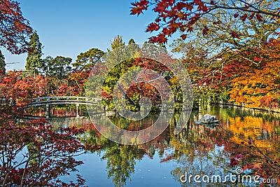Kyoto at Eikando Temple Garden
