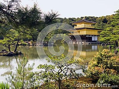 Kyoto Gold pavilion Temple