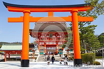 Fushimi Inari Shrine, Kyoto, Japan Editorial Photography