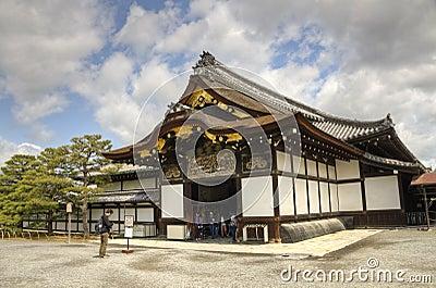 Kyoto, Nijo Castle Editorial Photo