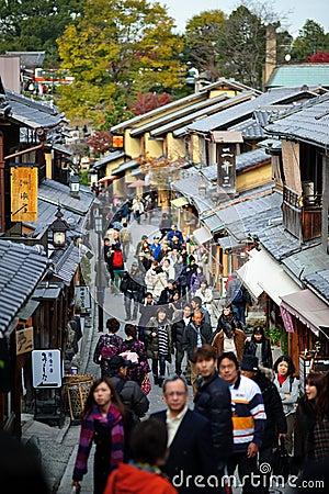 Kyoto Old Japan Editorial Photo