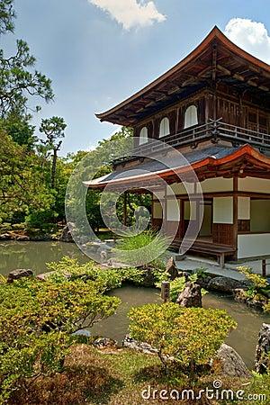 Kyoto silver Temple Gardens