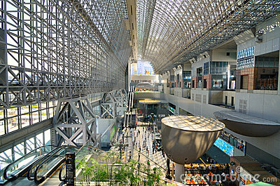 Kyoto Station Editorial Image