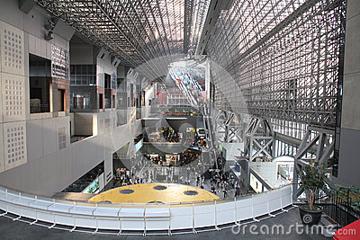 Kyoto station Editorial Stock Photo