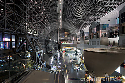 Kyoto Station South End