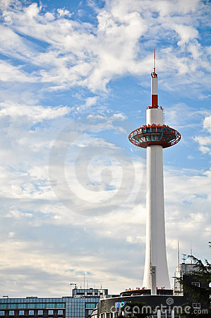 Kyoto Tower Editorial Stock Photo