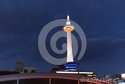 Kyoto tv tower