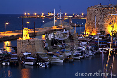 Kyrenia Harbor - Turkish Cyprus