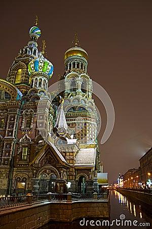 Kyrka av frälsaren på spillt blod, St Petersburg