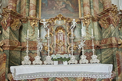 Kyrklig Europa germany wieskirche