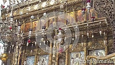 kyrklig nativity _ stock video