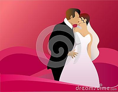 Kyssa bröllop
