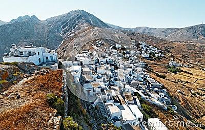 Kythnos island village