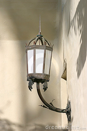 Lámpara de calle vieja