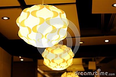Lámpara hermosa