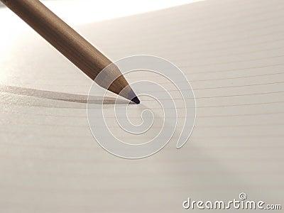 Lápiz en el papel