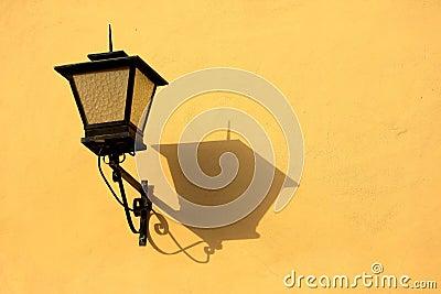 Lâmpada de rua do vintage