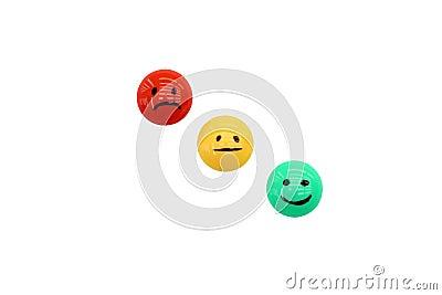 Lächeln und Gefühle