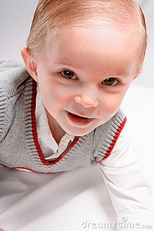 Lächelndes Kleinkind