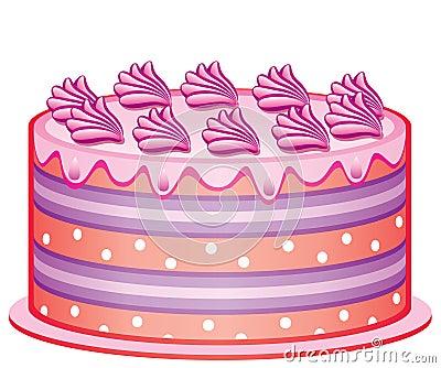 Läcker cake