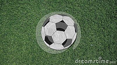 Lång hand som monterar stil för utklipp för fotbollboll en Retro vektor illustrationer