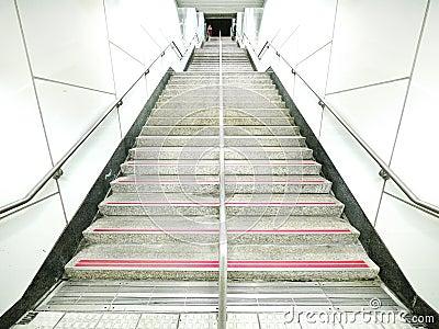 Lång trappa