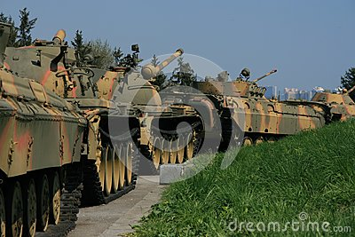 Línea soviética del tanque