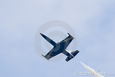 L-39 jet from Russ display team Editorial Image