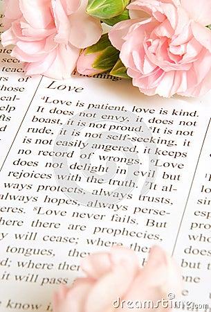 L amour est