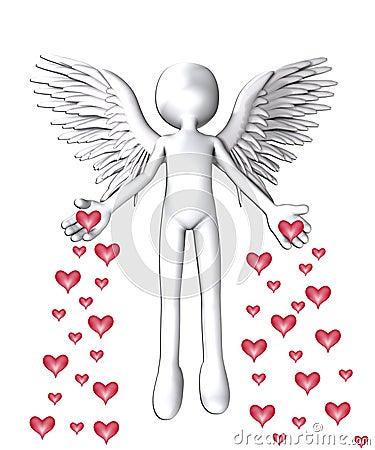 L ange de l amour