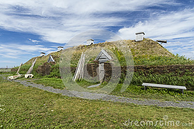 L Anse Aux Meadows Viking Long Hall