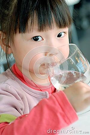Fille chinoise la plus mignonne