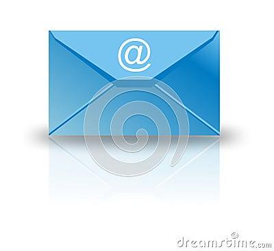 L email enveloppent