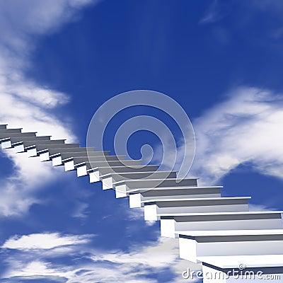 L escalier au ciel